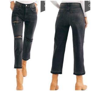 We the Free NWT Lita Crop Straight Leg Jeans
